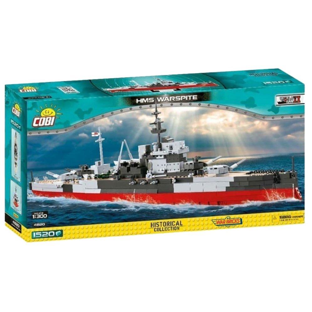 COBI HMS Warspite Battleship (4820) 2021 Version