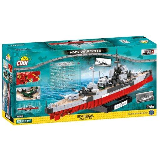 COBI HMS Warspite Battleship (4820) Box