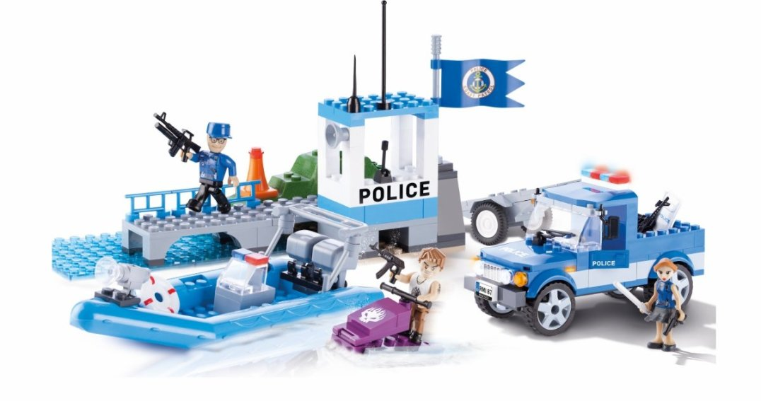 COBI Harbor Patrol Set (1565) Amazon