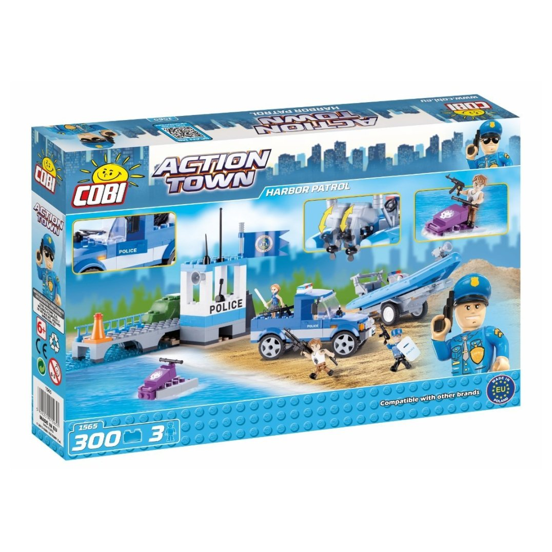 COBI Harbor Patrol Set (1565) Box