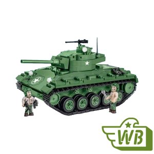 COBI M24 Chaffee Tank Set
