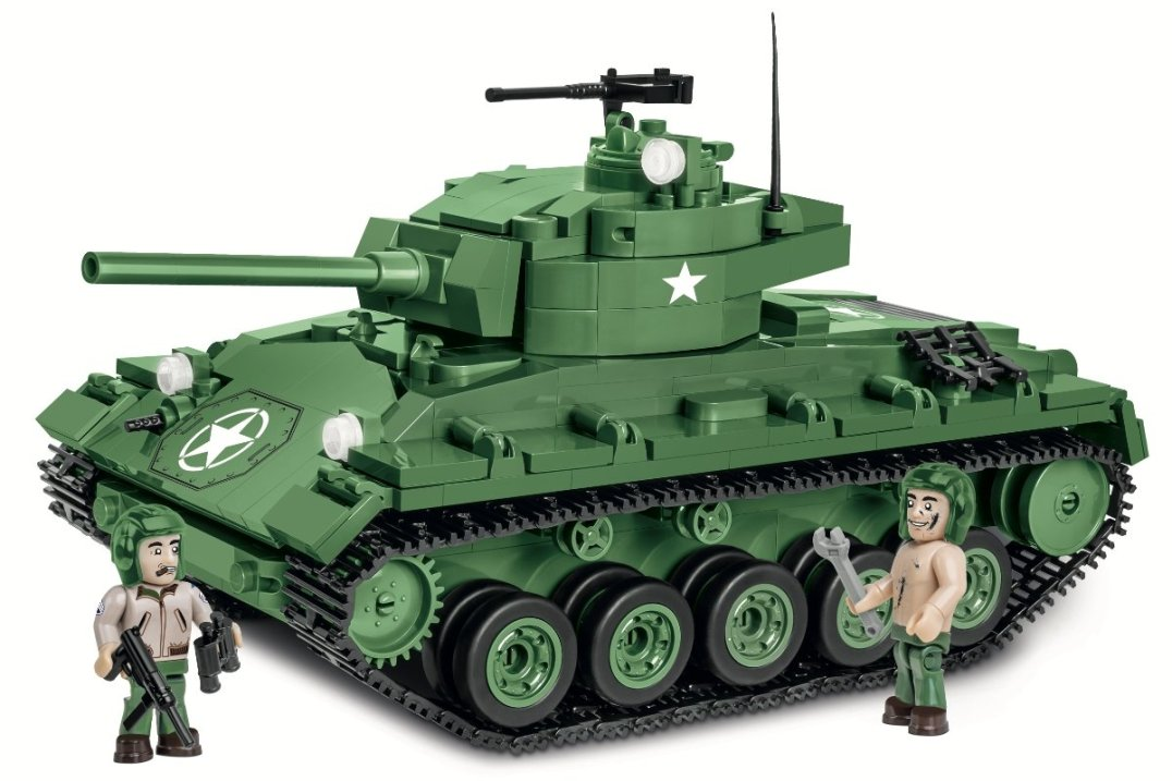 COBI M24 Chaffee Tank Set (2543) Amazon