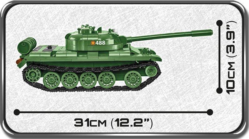 COBI MEDIUM TANK T- 55 (2234) SET Length