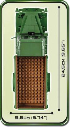 COBI MERCEDES BENZ L3000S SET (2455A) size