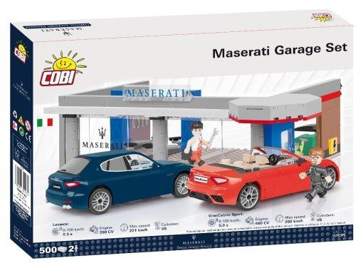 COBI Maserati Garage Set (24568) Amazon