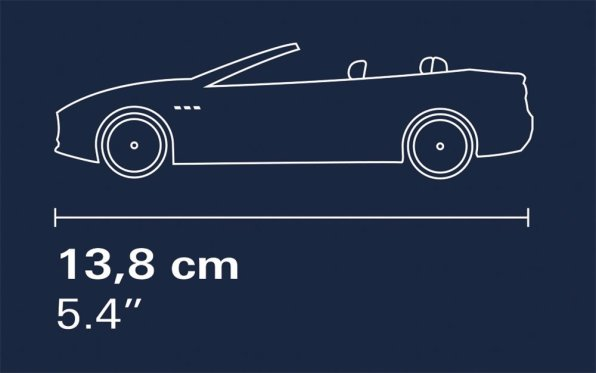 COBI Maserati Garage Set (24568) Size