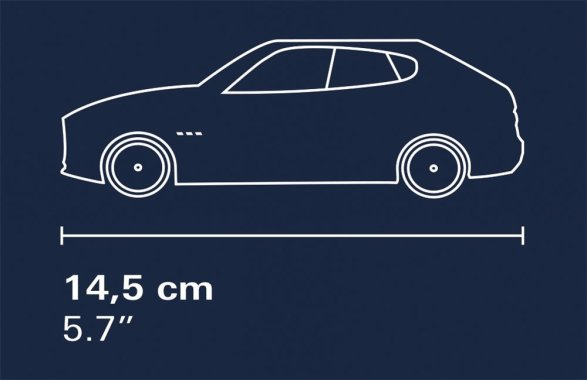 COBI Maserati Garage Set (24568) length