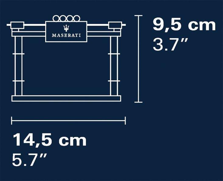 COBI Maserati Gran Turismo GT3 Set (24567) Size