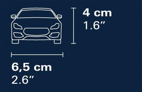 COBI Maserati Gran Turismo GT3 Set (24567) Width