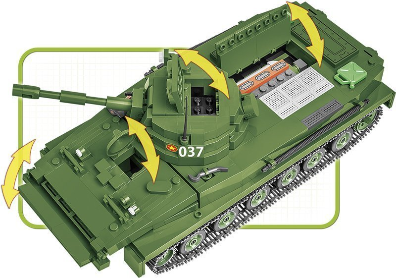 COBI PT-76 Tank Set