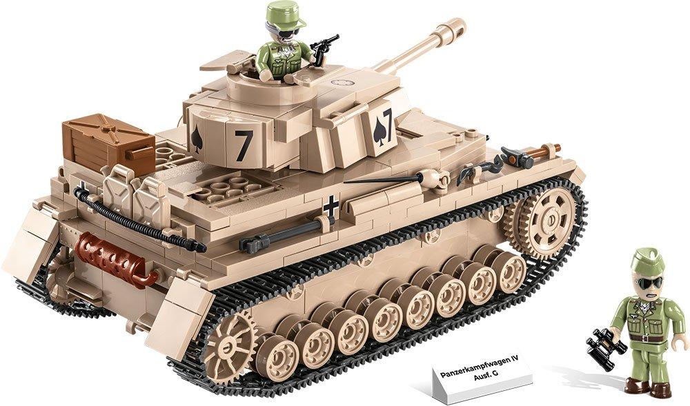 COBI Panzer IV AUSF. G Set (2546) amazon