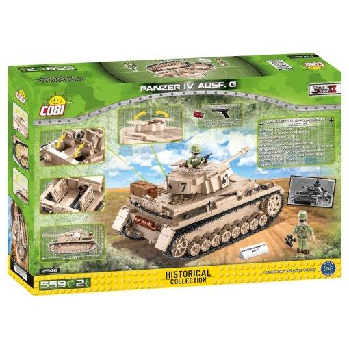 COBI Panzer IV AUSF. G Set (2546) best price