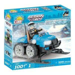 COBI Police Snowmobile Set (1544)