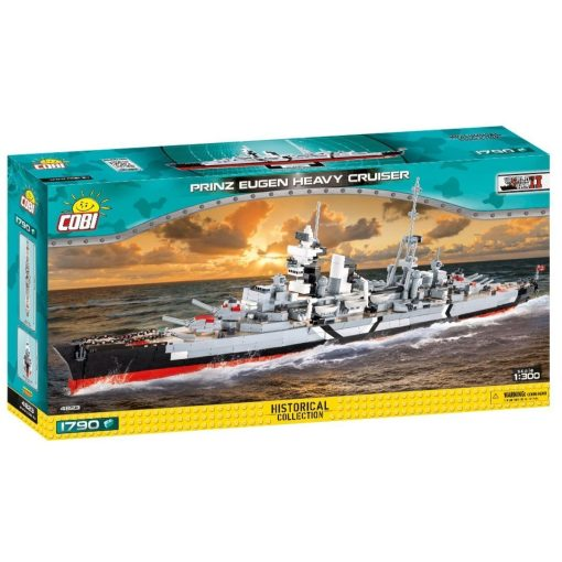 COBI Prince Eugen Heavy Cruiser Set (4823)