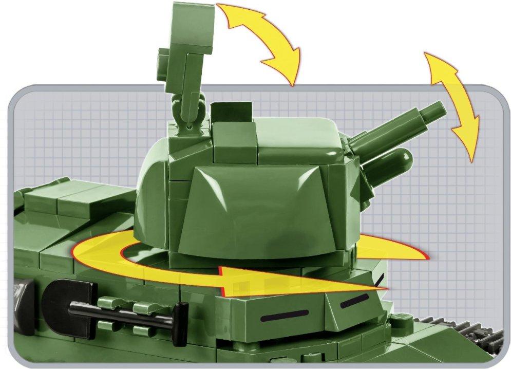 COBI Renault FT-17 Tank Set (2973) Turret