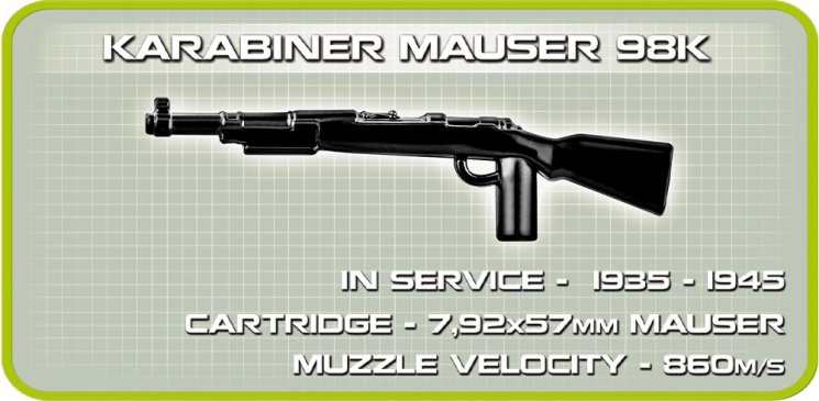 COBI SCHWIMMWAGEN Set (2403) Gun