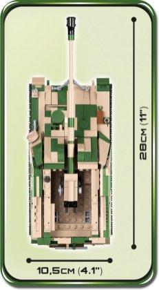 COBI SD.KFZ NASHORN Set (2517) Size