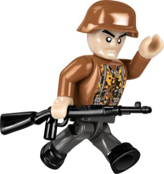 COBI SD.KFZ NASHORN Set (2517) Soldier