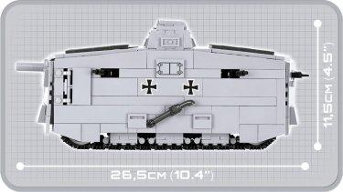 COBI STURMPANZERWAGEN A7V Set (2982) USA