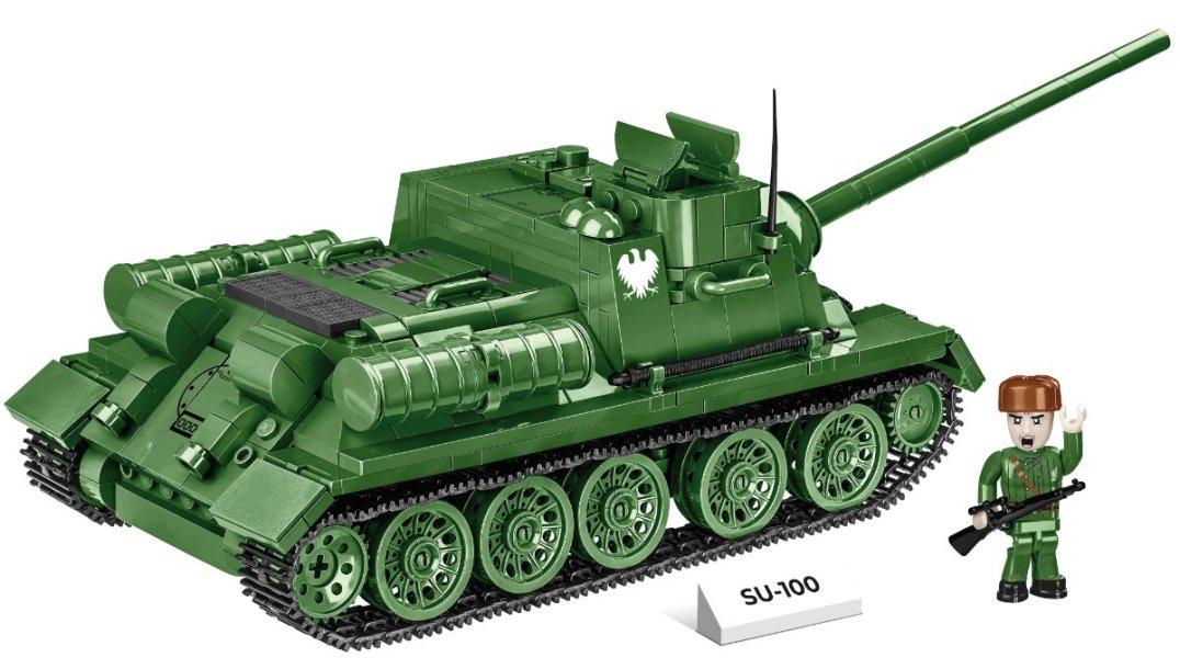 COBI SU-100 Tank Destroyer (2541) Best Price