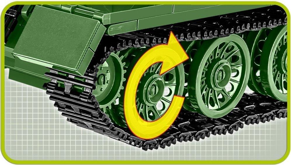 COBI SU-100 Tank Destroyer (2541) Tracks