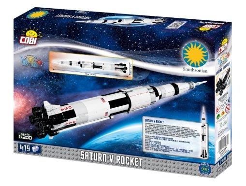 COBI Saturn V Rocket Set (21080) USA
