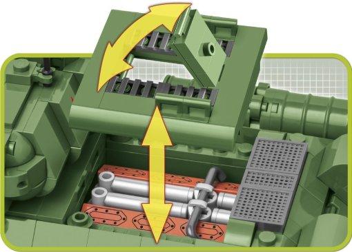 COBI T-34-85 Tank Set (2542) Engine