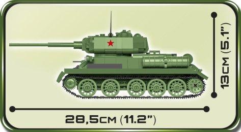 COBI T-34-85 Tank Set (2542) Size