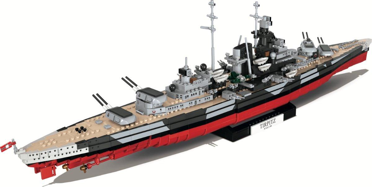 COBI Tirpitz Battleship Set (3085) Amazon