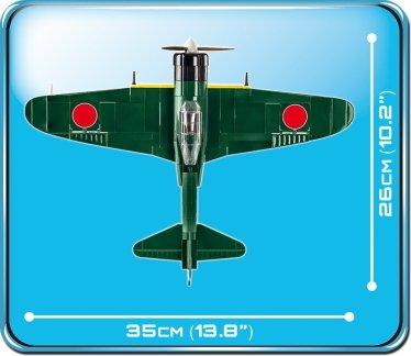 Cobi MITSUBISHI A6M5 ZERO M Set (5712) Size