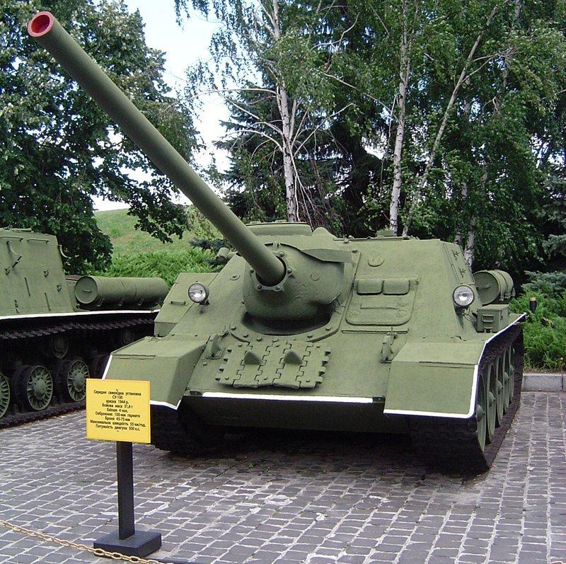 SovietSU-100 Tank