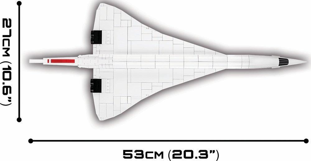 The COBI Concorde Set (1917) Length