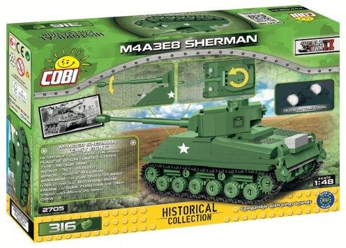 COBI 148 M4A3E8 Sherman (2705)