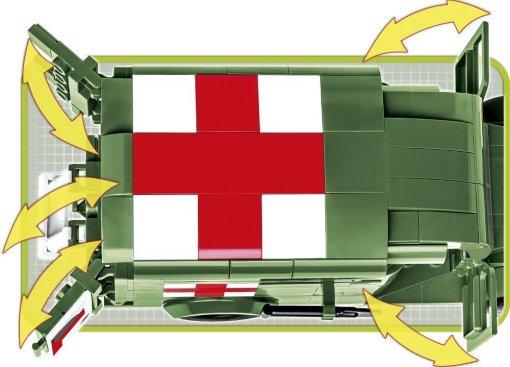 COBI Dodge WC54 Ambulance (2257) Details