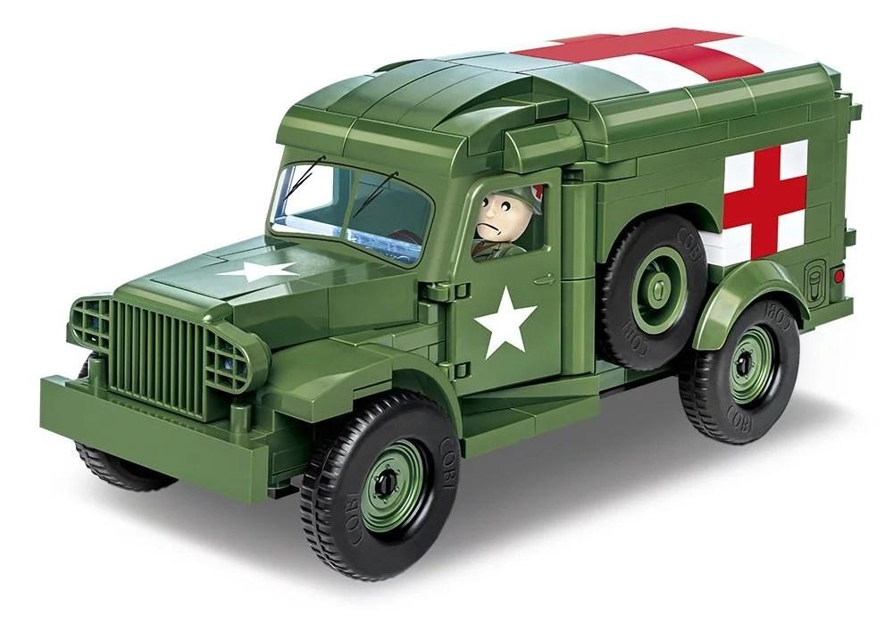 COBI Dodge WC54 Ambulance (2257) review