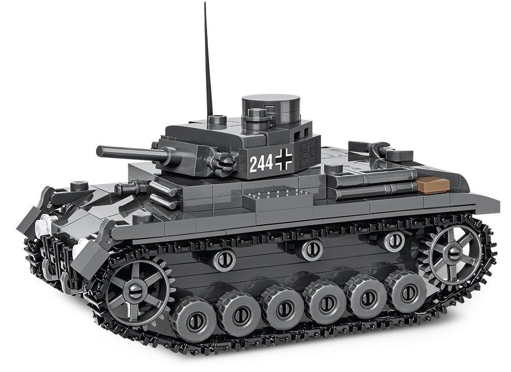 COBI Panzer III AUSF E Set (2707) review