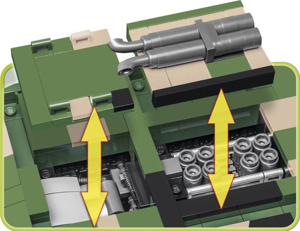 COBI TOG II Heavy Tank Engine