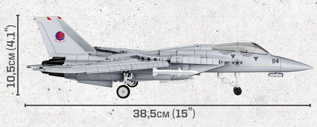 COBI Top Gun F-14 Tomcat Set Scale