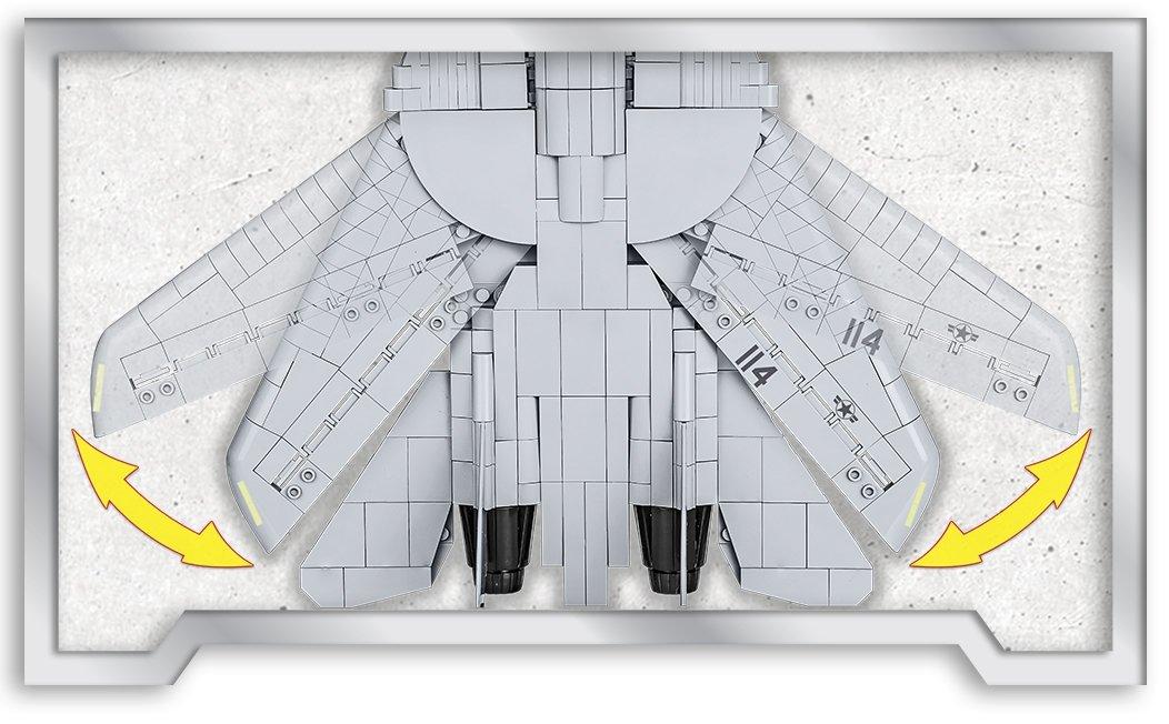 COBI Top Gun F-14 Tomcat Wings