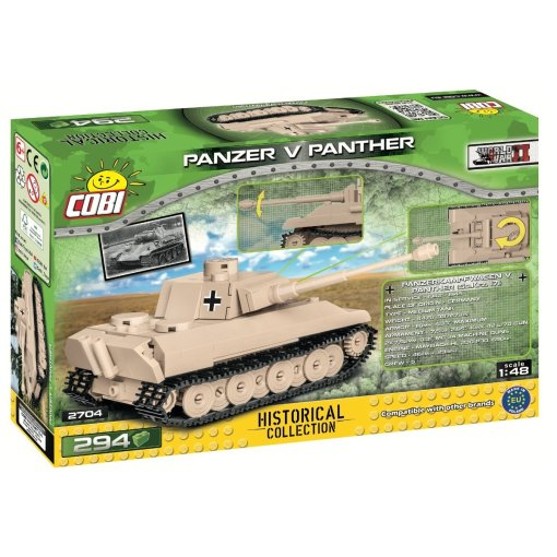 The COBI 148 Panzer V Panther (2704) USA