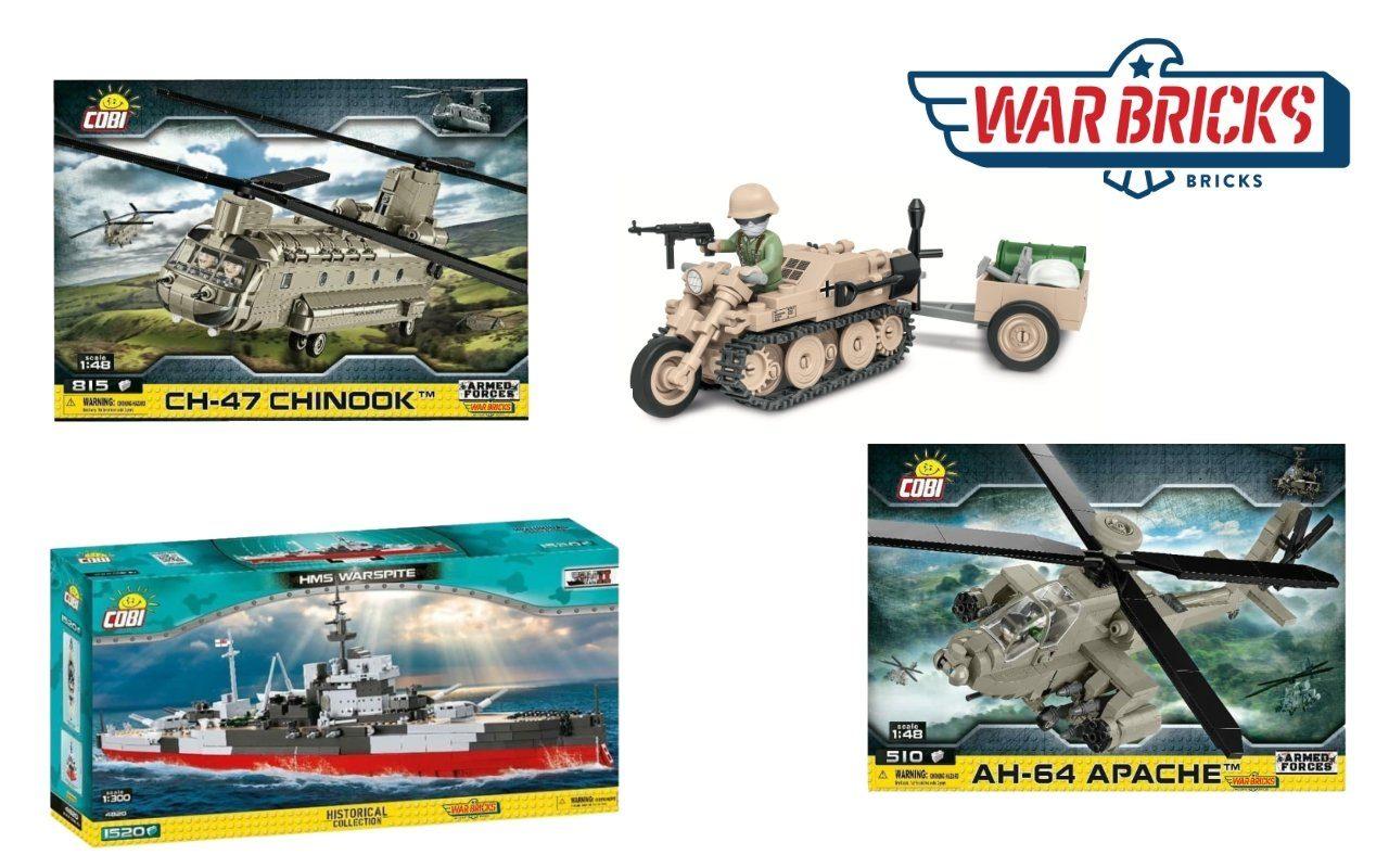 New January COBI Pre-orders From Warbricks USA