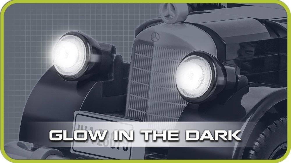 COBI Mercedes 230 Set (2251) Headlights