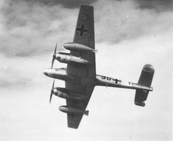 COBI Messerschmitt BF110 set