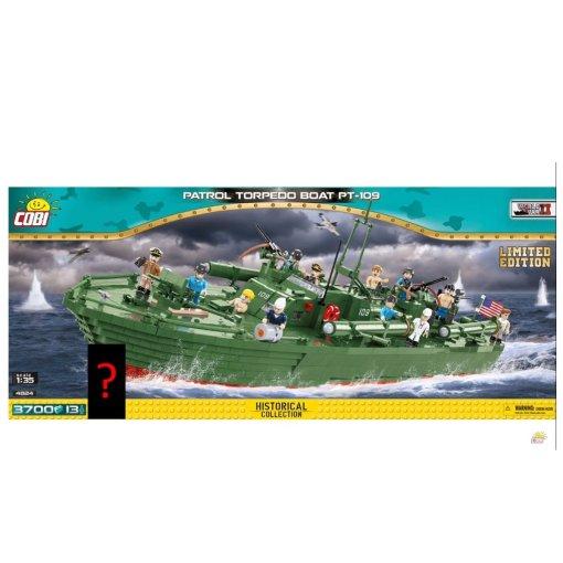 COBI PT-109 Torpedo Boat Set (4824)