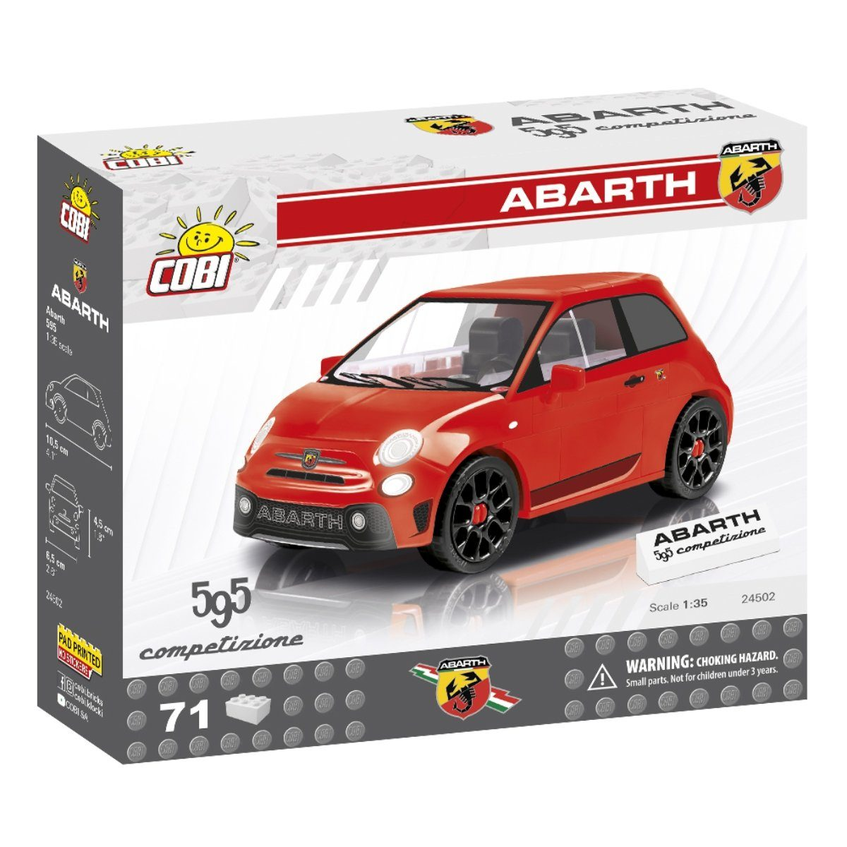 COBI Abarth 595 Set (24502)