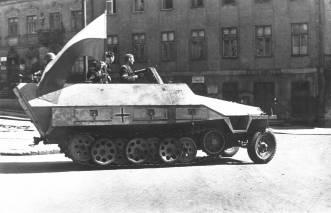 COBI SD KFZ 251 AUSF A Polish Uprising