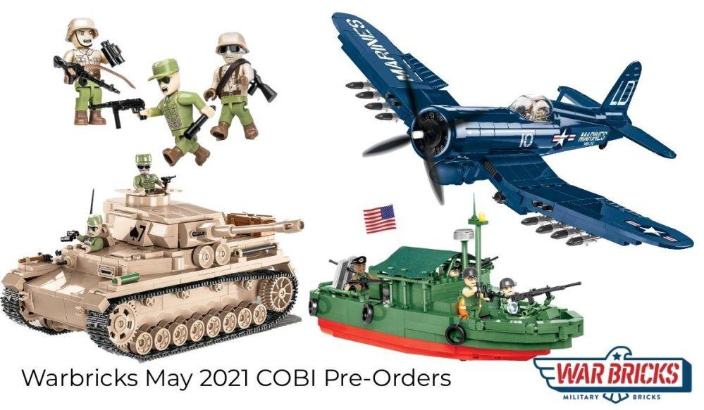 Warbricks May 2021 COBI Pre-Orders
