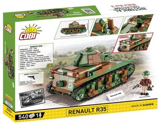 COBI Renault R35 Set (2553) USA