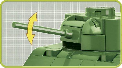 COBI Sherman M4A1 1_48 Set (2708) Cannon
