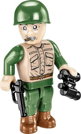 How many Figures come with the COBI M41 Bulldog